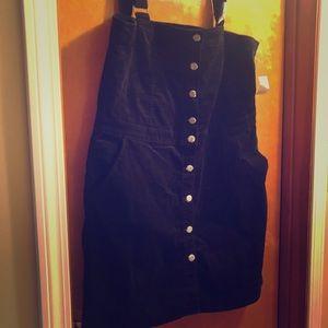 Brand new Gap cord jumper dress